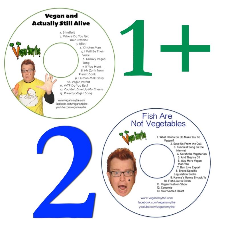 Vegan music CDs